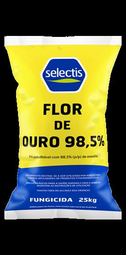 Flor de Ouro 98,5%